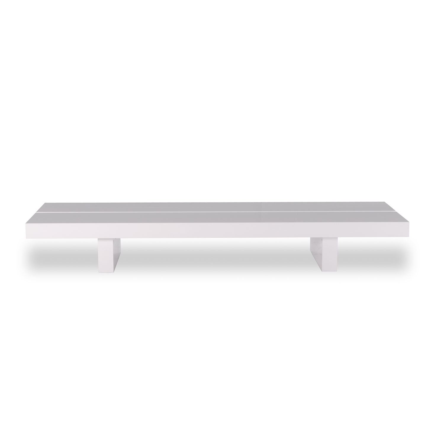 tokyo 180 low coffee table white
