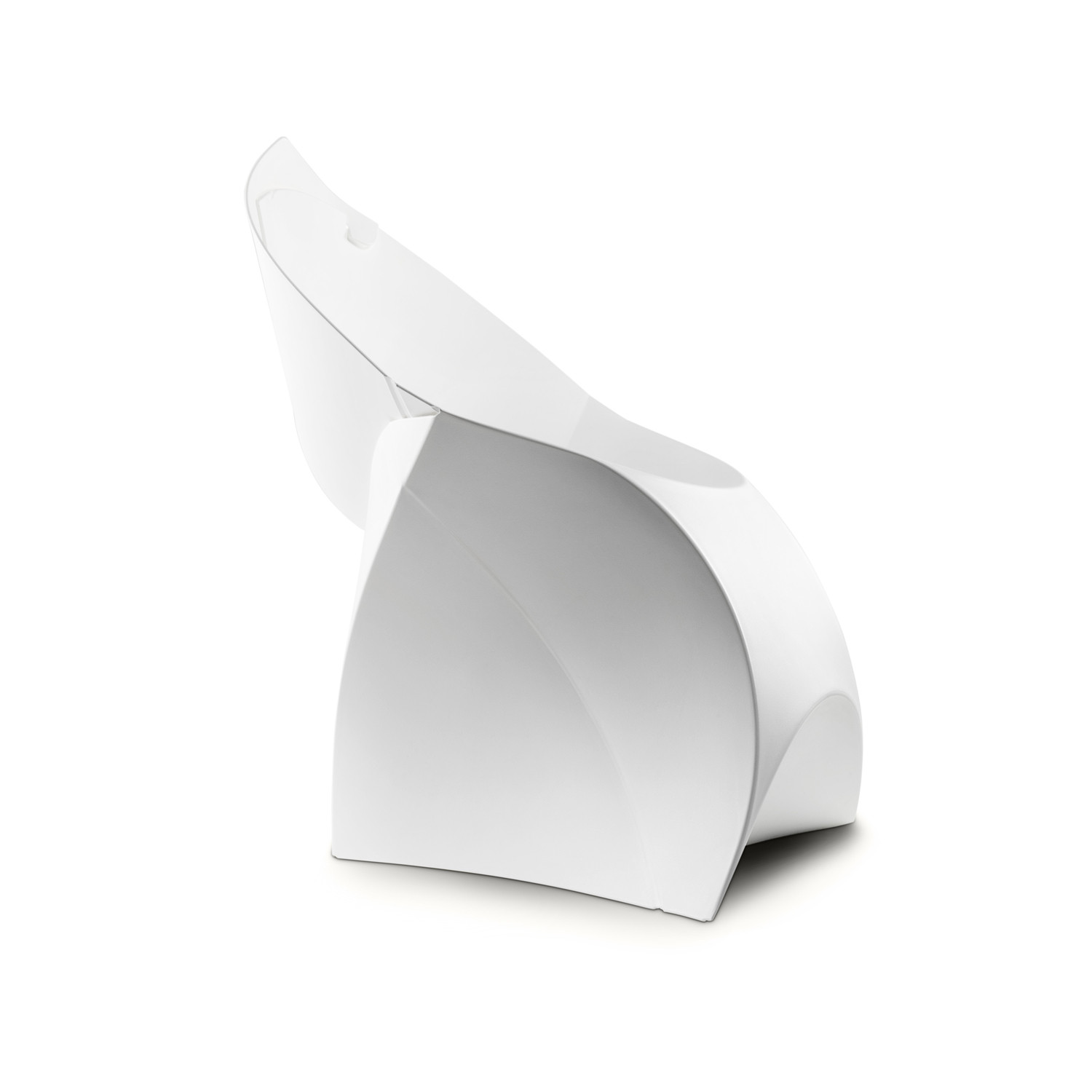 Flux Chair Flux Chair Pure White Flux Touch Of Modern