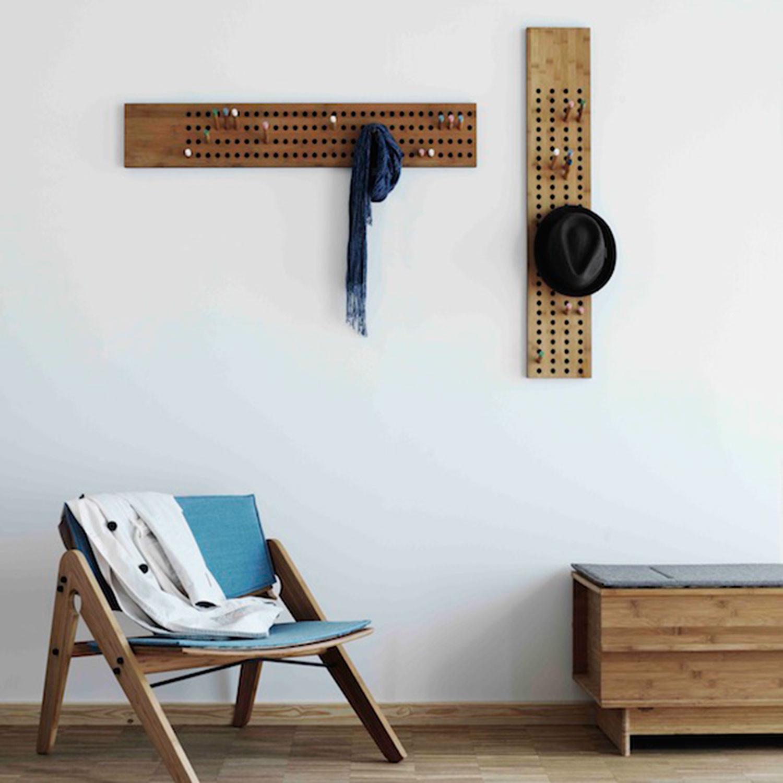 vertical coat rack we do wood touch