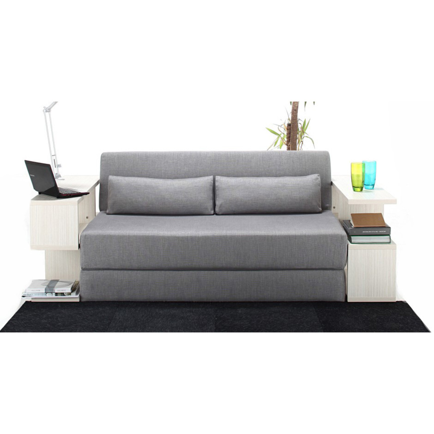 light green sofa bed sam s club harper leather seatpacking grey nyfu touch of modern