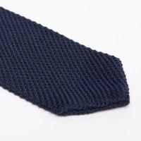 Silk Knit Tie // Navy - Chanman - Touch of Modern