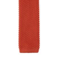 Solid Knit Tie // Orange - NBH.hoo Ties - Touch of Modern