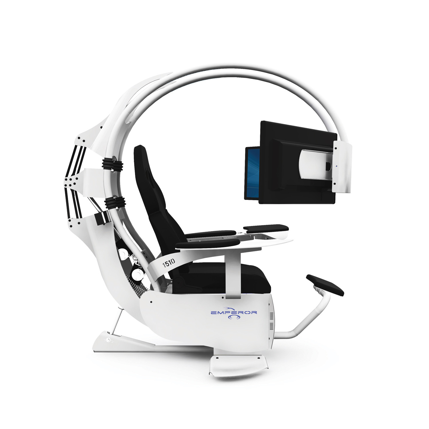 how much does a gaming chair cost wheel price in ksa emperor 1510 carbon black mwe lab touch of modern
