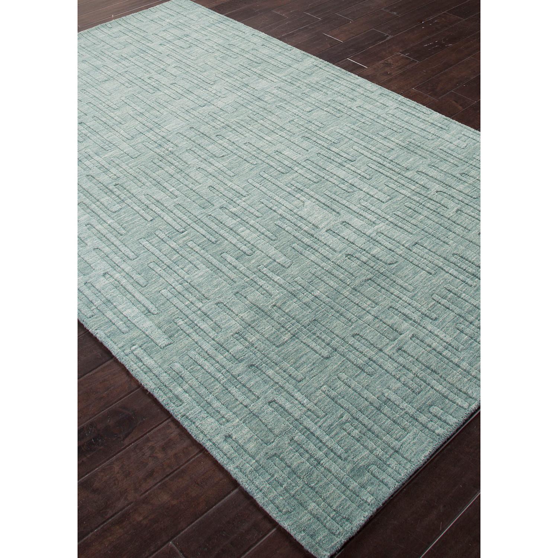 Urban Mineral Blue Wool Rug 3L x 2W  Jaipur Rugs