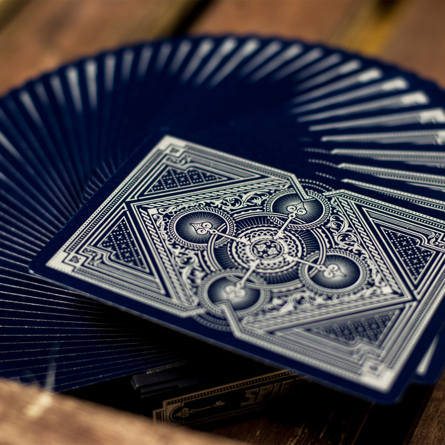 Limited Edition Bicycle Playing Cards Spirit Blue