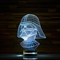 Darth Vader // Star Wars 3D LED Lamp - ArtisticLamps ...