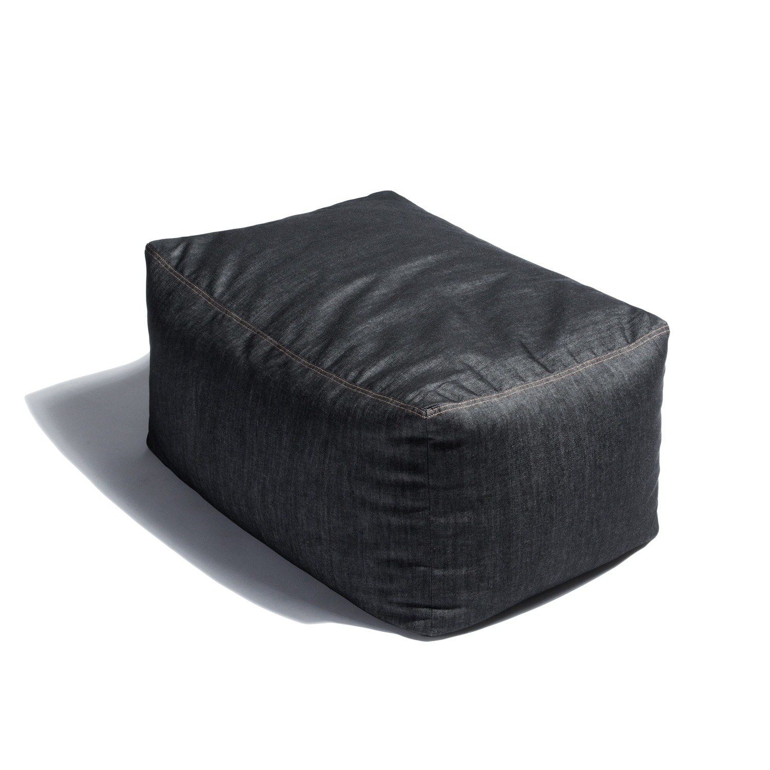 denim bean bag chair bed sleeper sale 43 ottoman jaxx touch of modern