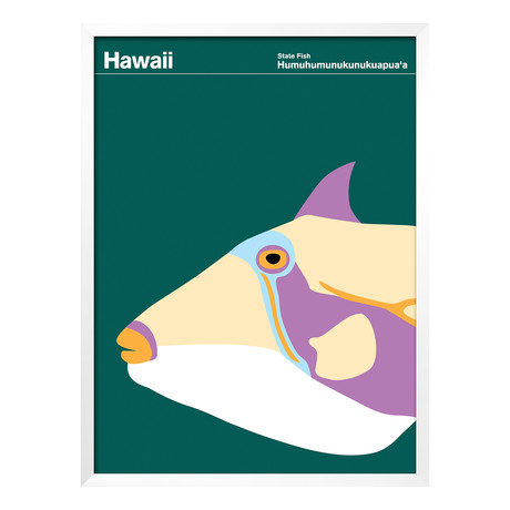 Hawaii  Minimalist State Posters  Touch Of Modern