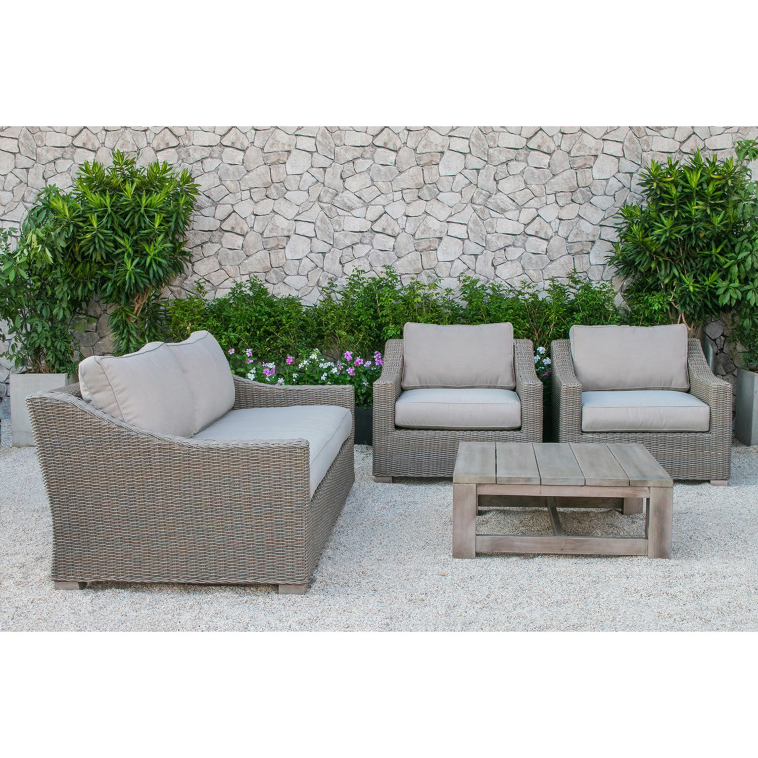 montclair all weather wicker sectional sofa set click clack faux leather bed renava palisades outdoor vig touch of