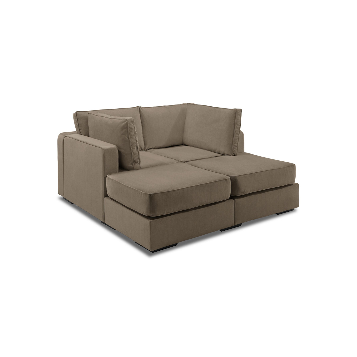 love sac chair deck chairs for boats 5 series sactionals m lounger taupe lovesac touch