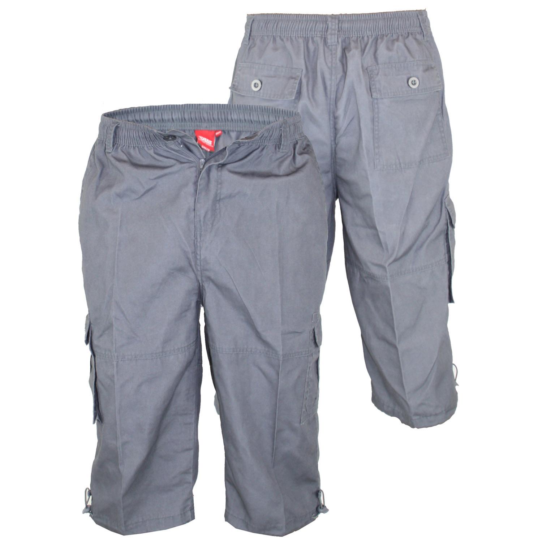 Mason Capri Pants Dark Grey 1xl - Duke Clothing