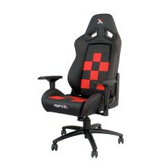 Red And Black Gaming Chair Stool Crossword 43 Rapidx Touch Of Modern