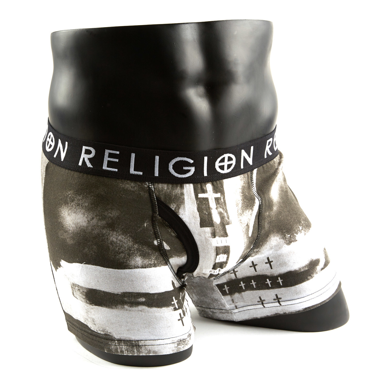 Religion Grey Union Jack Boxer Set Pack Of 2