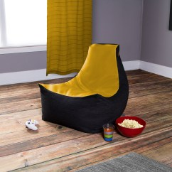 Denim Bean Bag Chair How To Make Dining Room Covers Vinyl 43 Gamer Green Black Jaxx