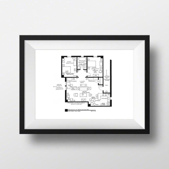 E69dc068b55b26545a7d23c5b0c94fde Medium Friends Ross Geller Apartment