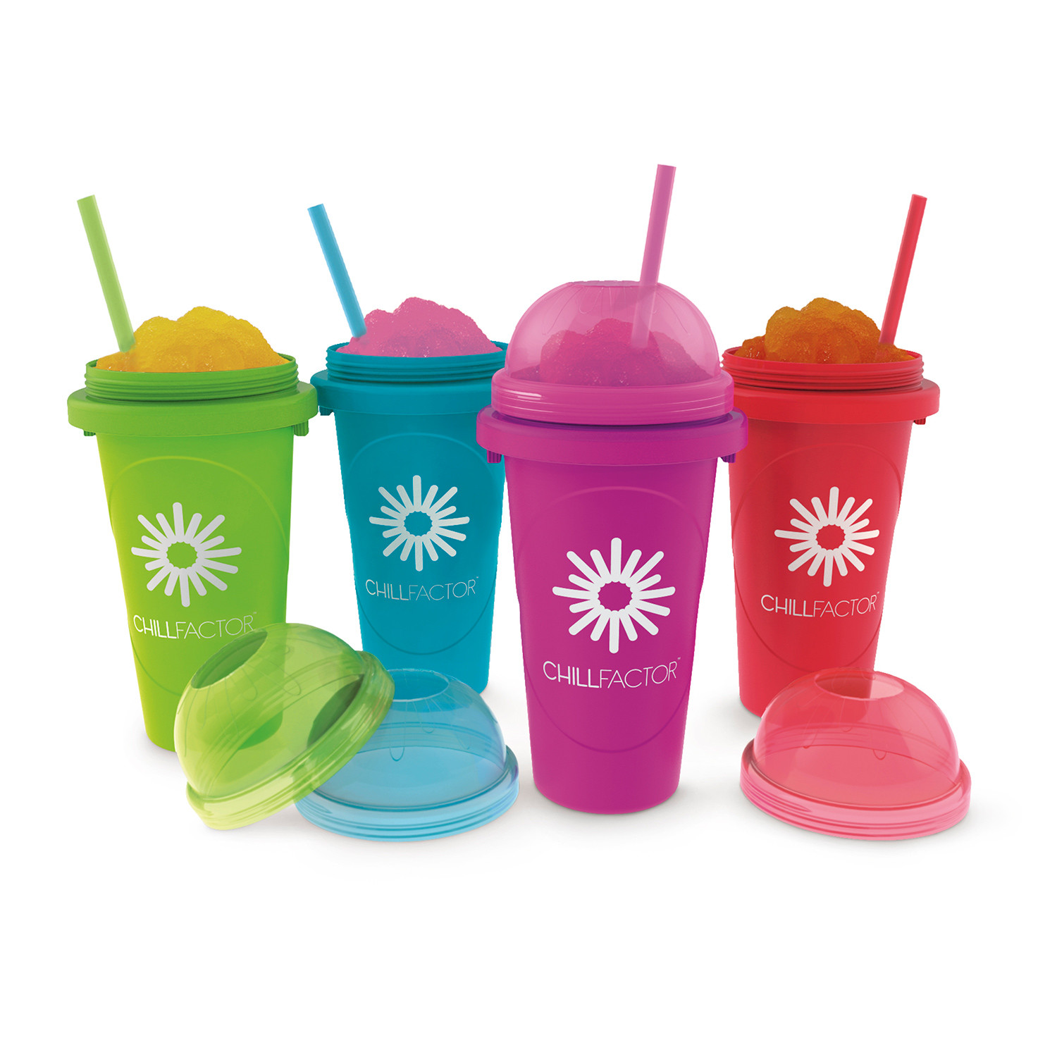 Jumbo Slushy Maker  Set of 4  Chill Factor  Touch of