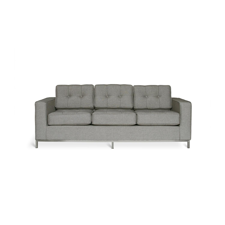sofa steel beds british made jane stainless base urban tweed ink gus