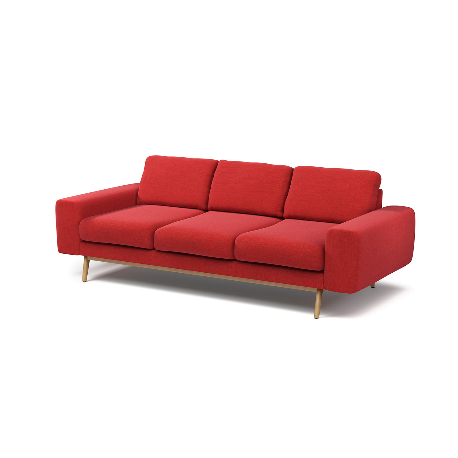 bright colored sofa covers set dealer in delhi anders red urbn touch of modern