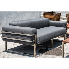Modern Sofa With Trundle Large Grey Velvet Corner James Dewulf Touch Of
