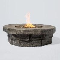 Tivoli Cast Stone Propane Fire Pit Table - Century Modern ...