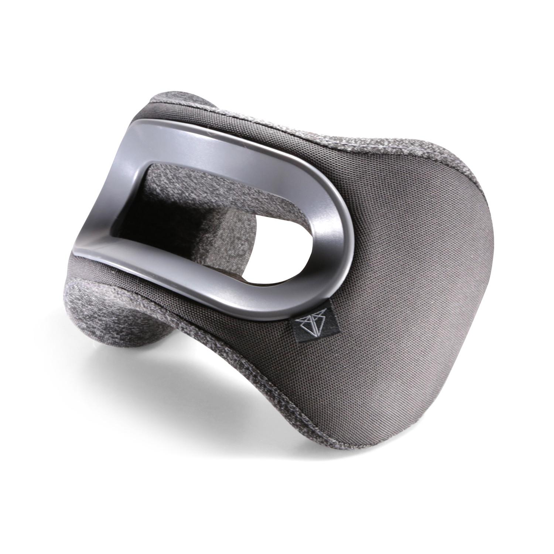 bullrest travel pillow gray