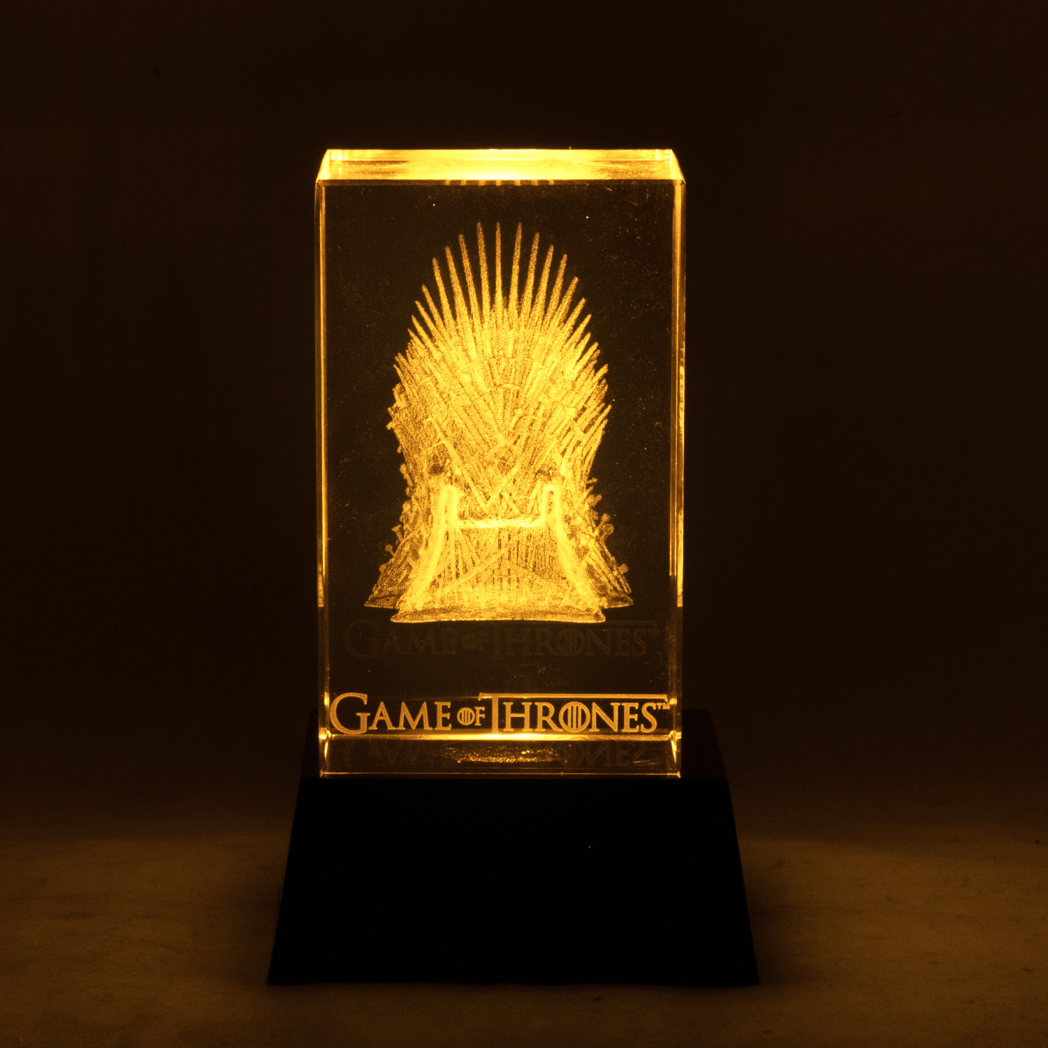 game of thrones chair for sale kitchen pads iron throne crystal display rare t