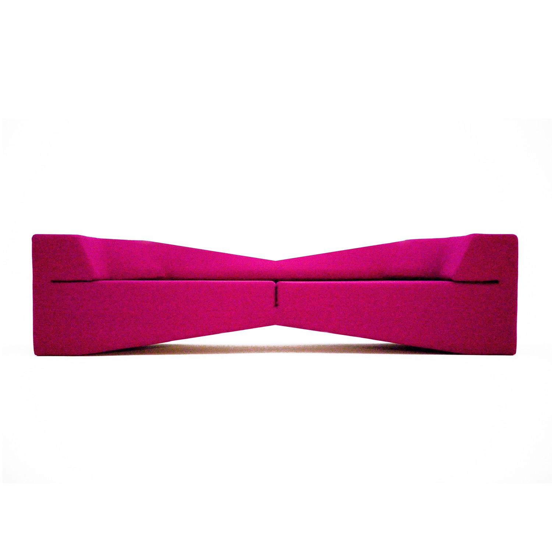 fuschia sofa loveseat cover xo wool nolen niu touch of modern
