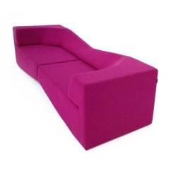 Fuschia Sofa Rv Flip Bed Xo Wool Nolen Niu Touch Of Modern