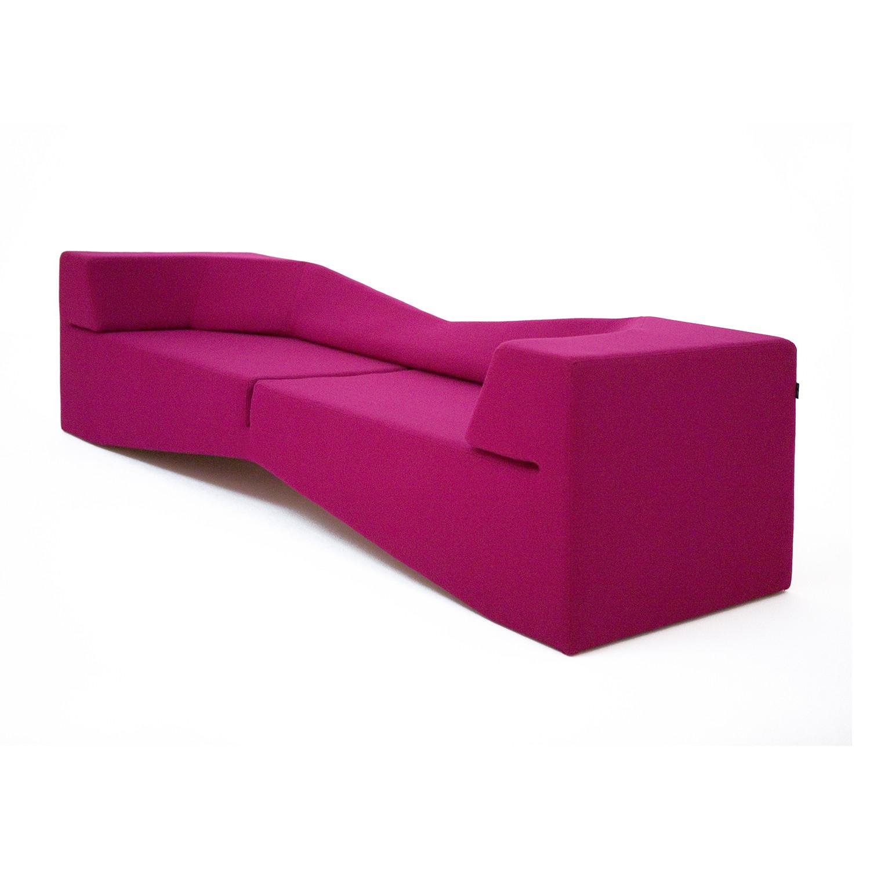 fuschia sofa throw pillows xo wool nolen niu touch of modern