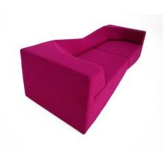Fuschia Sofa How Much Does It Cost To Reupholster A Sleeper Xo Wool Nolen Niu Touch Of Modern