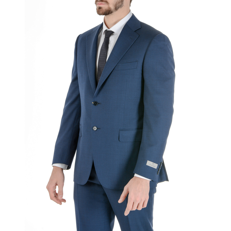 Koy Canali Suit Blue Euro 50 - Suits Touch