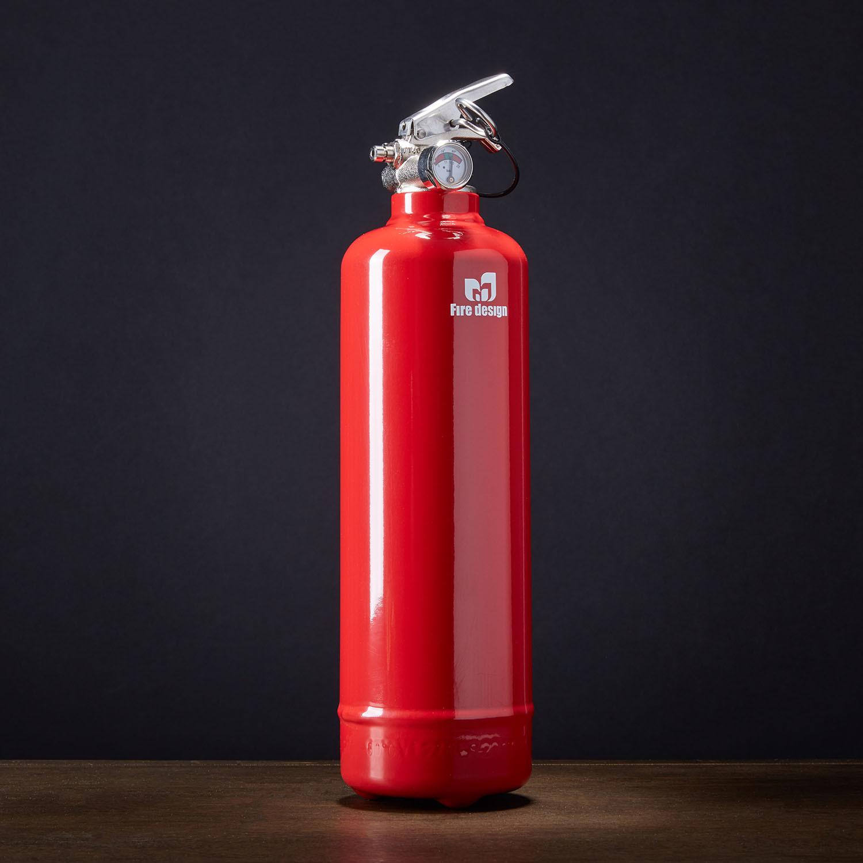 monochromatic red fire design