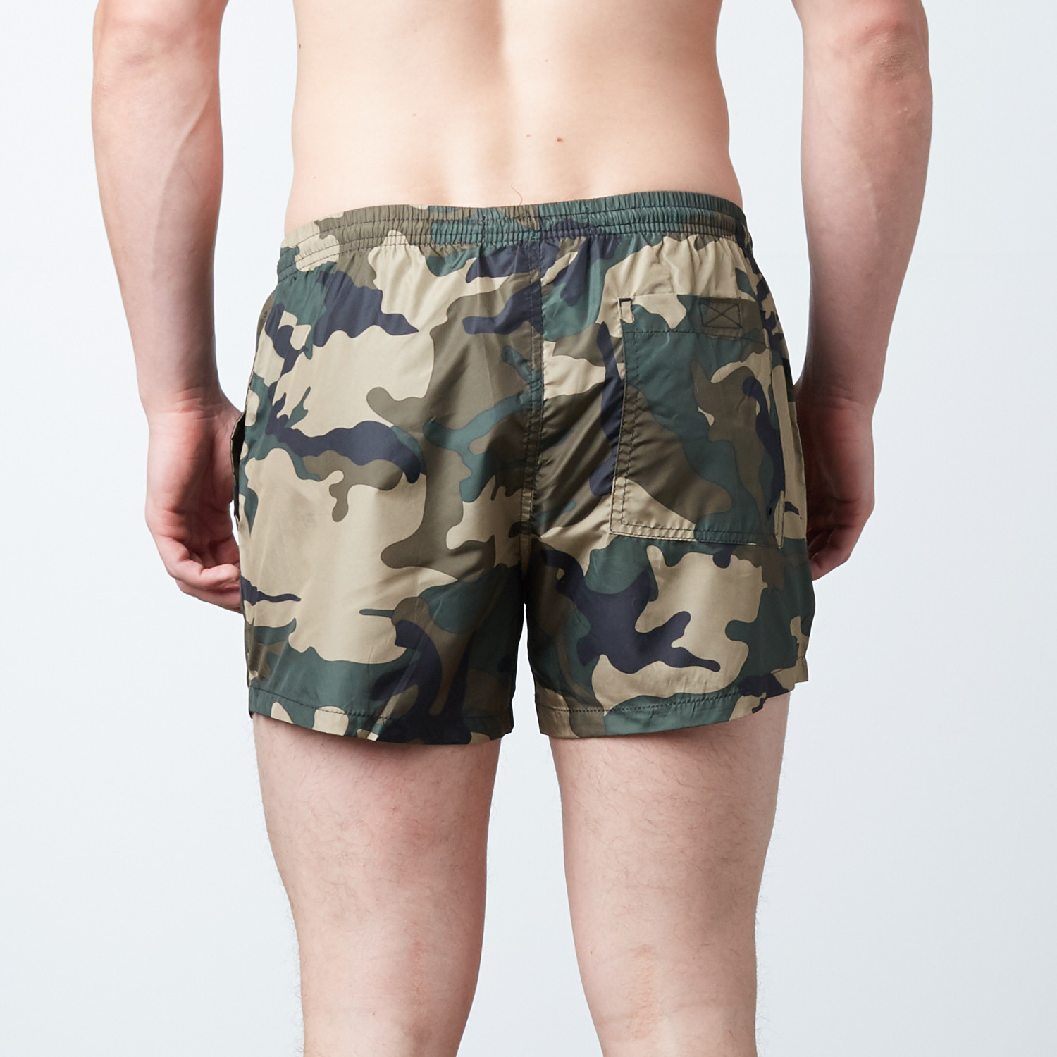 Columbia Swim Trunks Olive - Brave Soul Touch Of