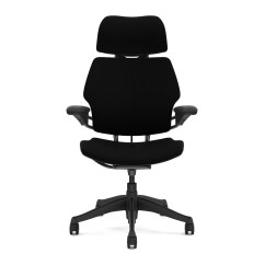 Freedom Task Chair With Headrest Cover Rentals Wichita Ks Graphite Humanscale Touch Of Modern