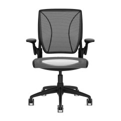Humanscale Diffrient World Chair White Covers Unique Task Touch