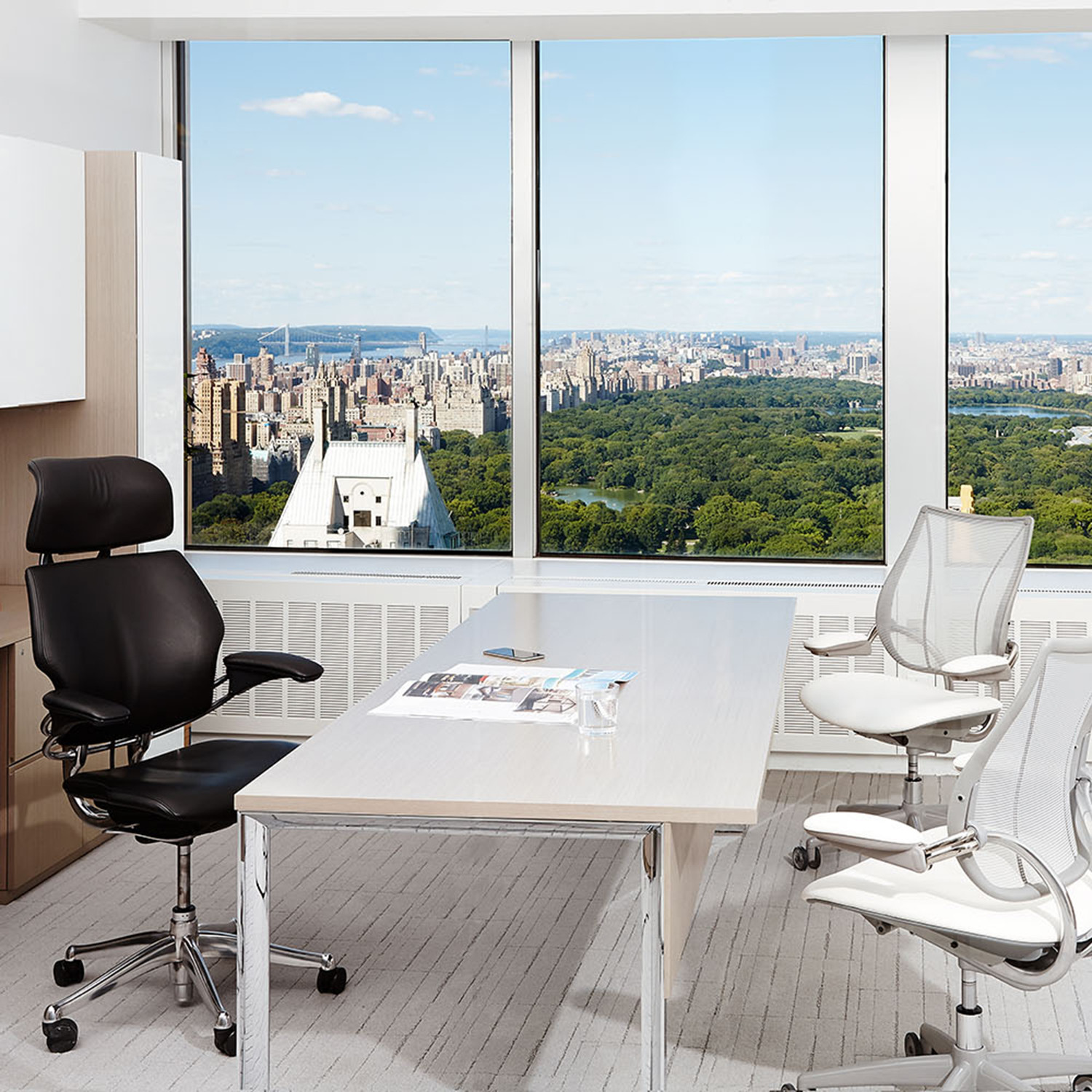 freedom task chair with headrest evenflo majestic high recall 43 graphite humanscale