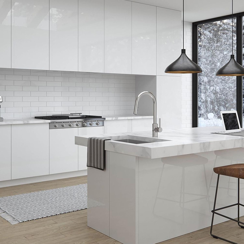 medium resolution of pfister stellen single handle pull down sprayer kitchen faucet the