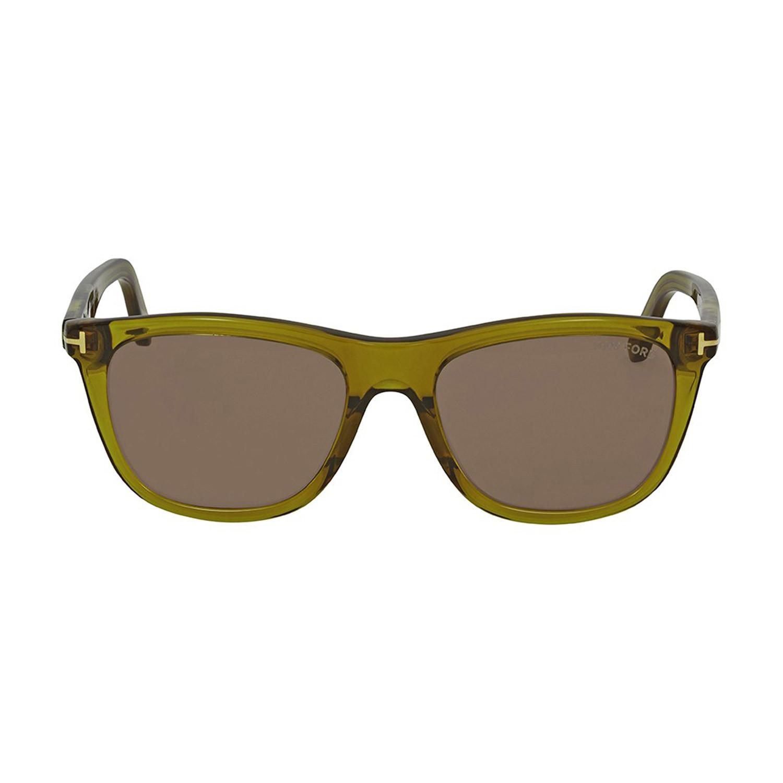 Men' Andrew Sunglasses Olive Green Brown - Tom Ford