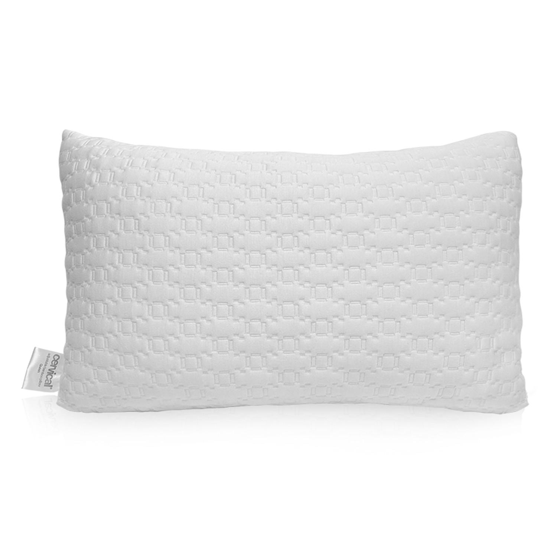 cervical adjustable bamboo memory foam