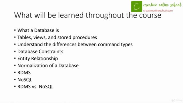 Basics of Database Design & Development