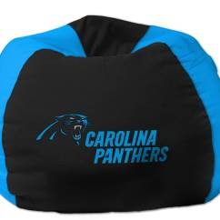 Carolina Panthers Chair High Back Accent Chairs Bean Bag