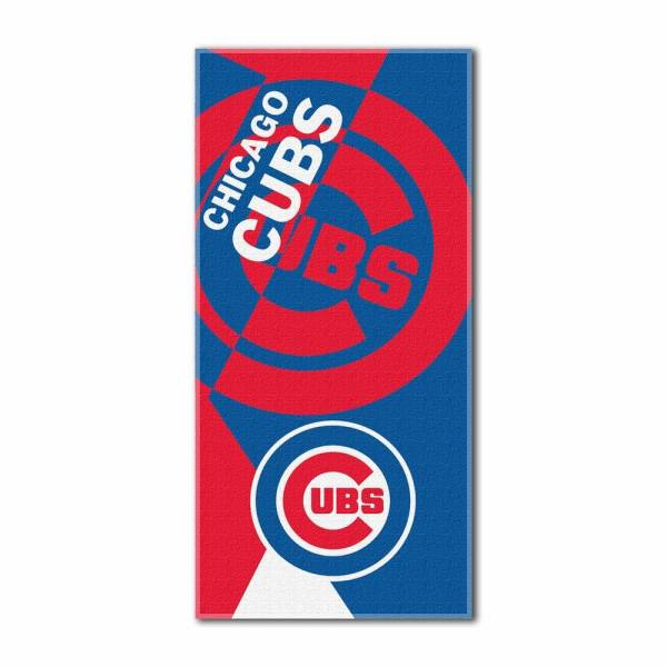 Chicago Cubs Puzzle Beach Towel