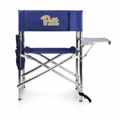 Sport Folding Chairs Iron Rocking Chair Pittsburgh Panthers Navy Sports