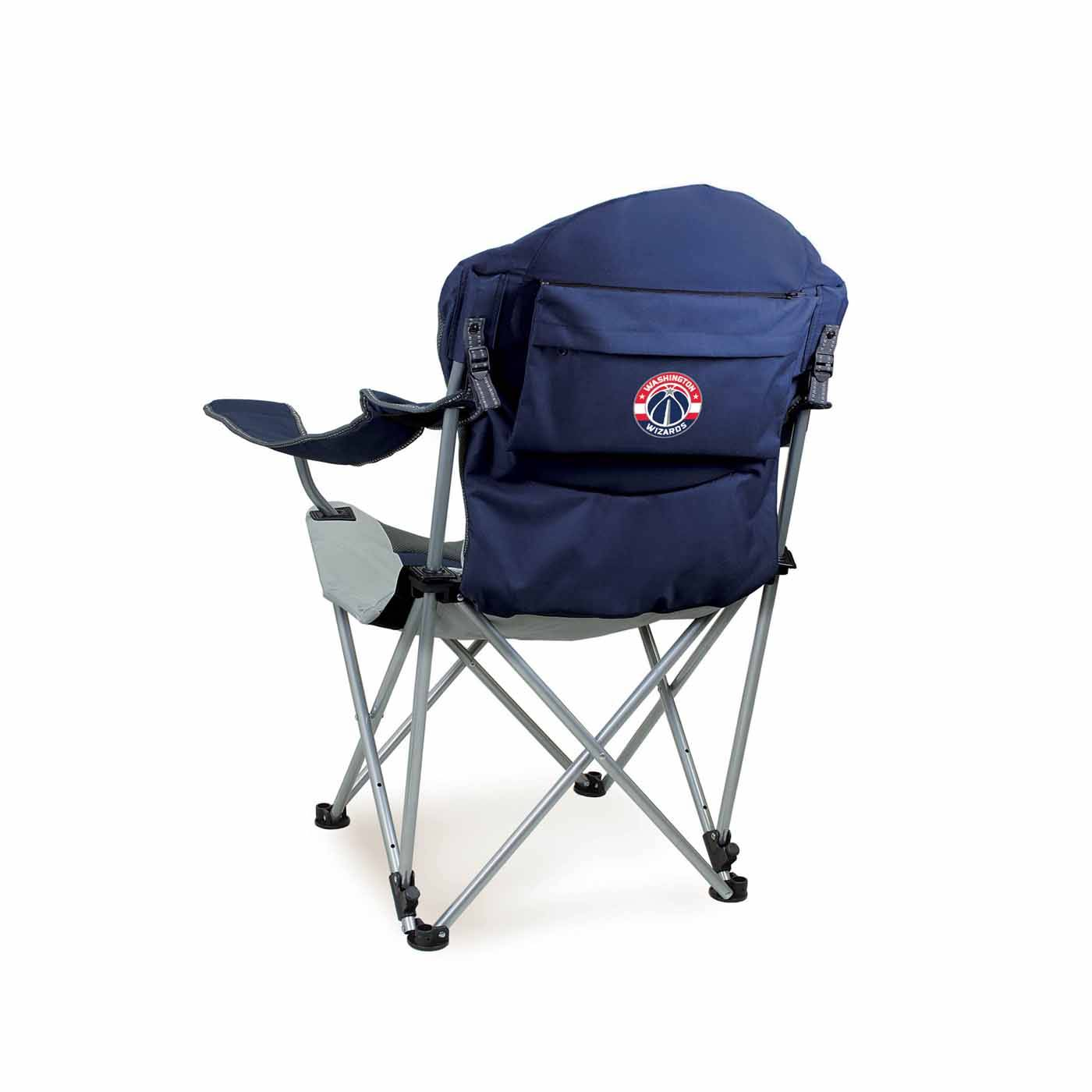 Reclining Camp Chair Washington Wizards Navy Reclining Camp Chair