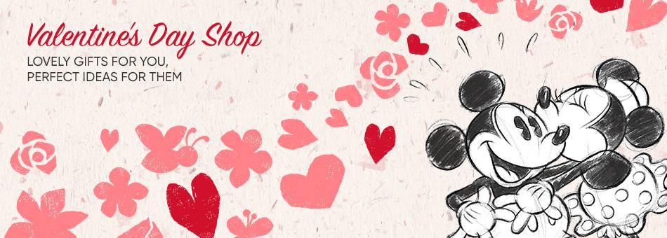 Valentines Day Disney Store