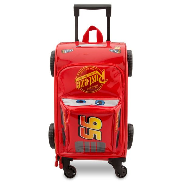 Lightning Mcqueen Rolling Luggage - Cars 3 Shopdisney