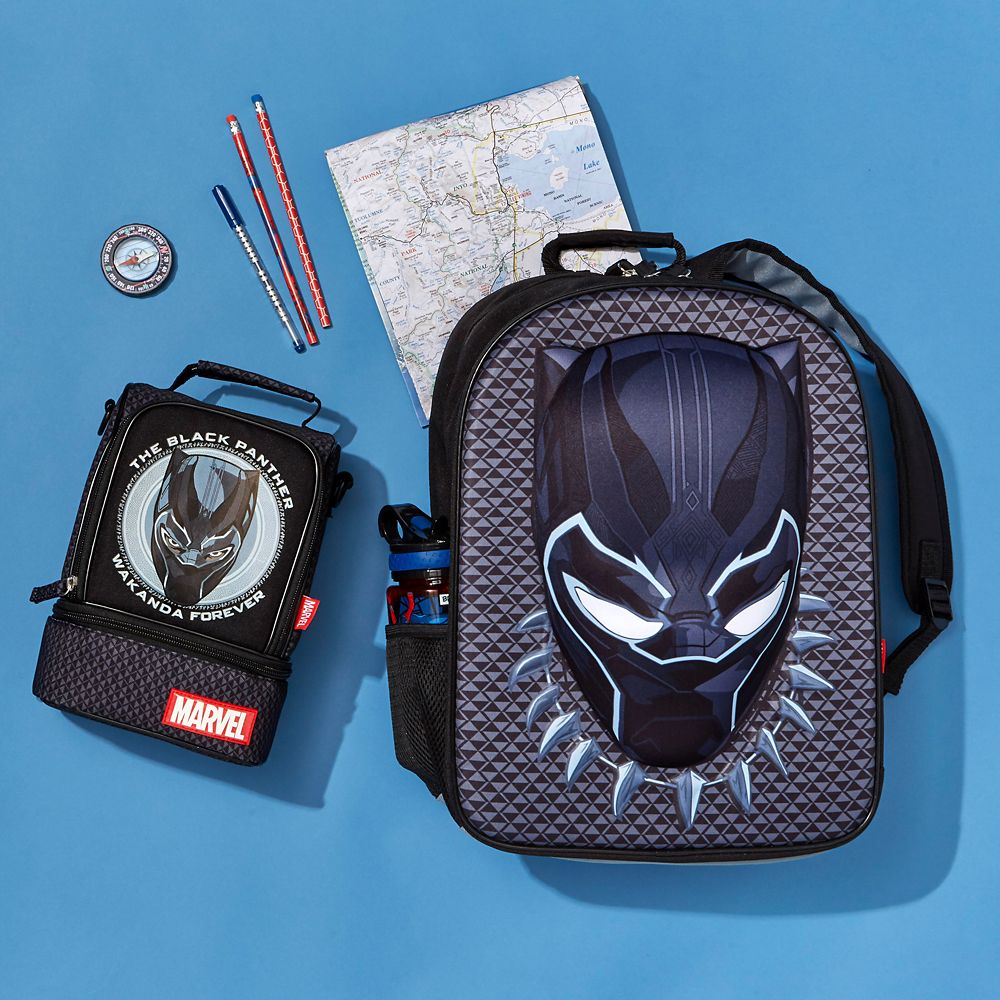 black panther backpack personalized
