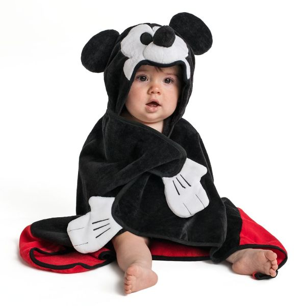 Mickey Mouse Hooded Towel Baby - Personalized Shopdisney