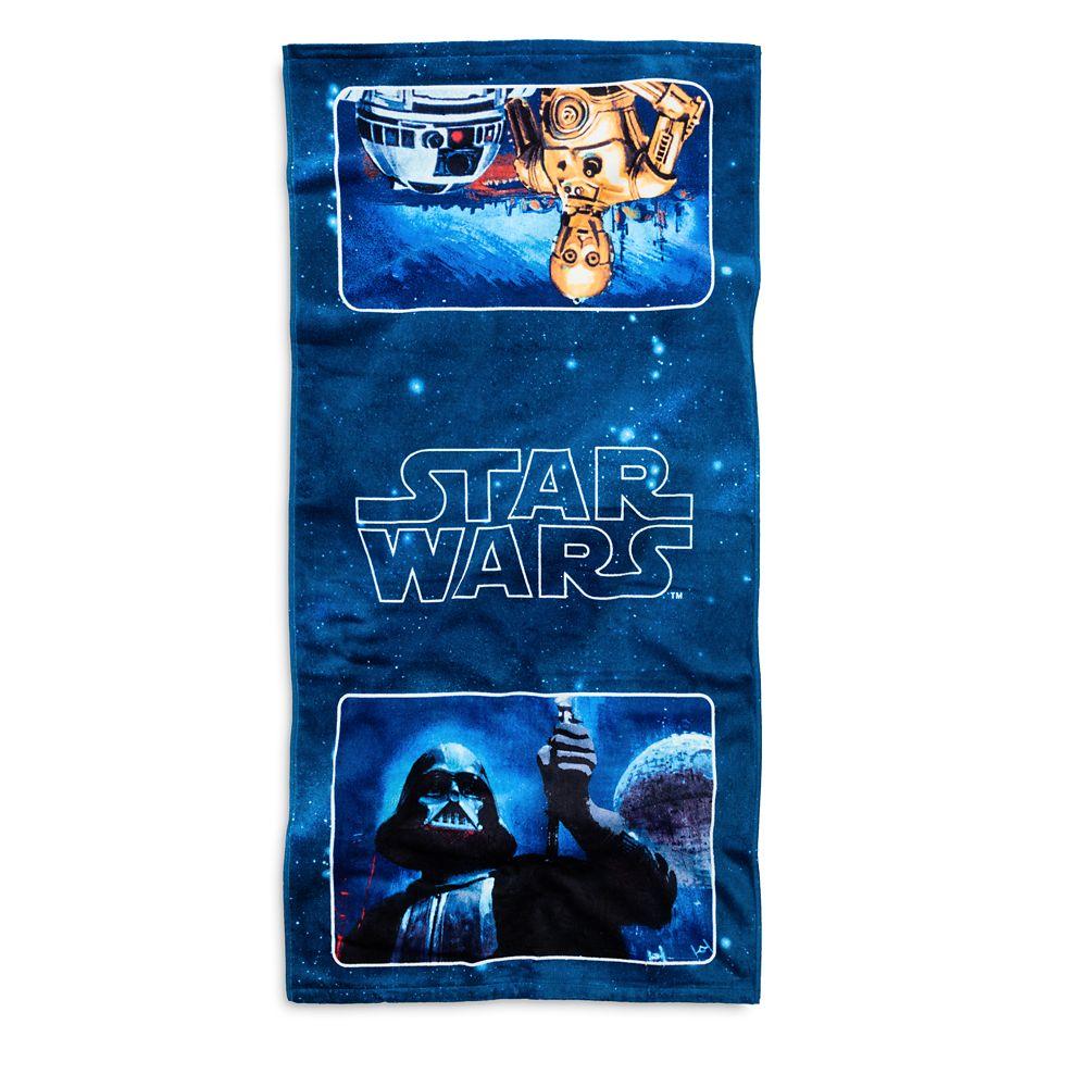 Star Wars Bath Towel  Disney Store