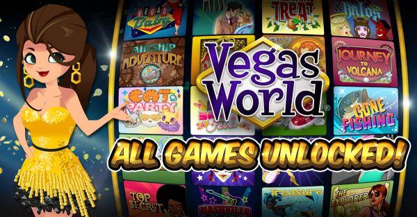 Vegas World - Play Online Casino Games for Fun at Vegas World